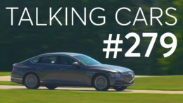 2021 Genesis G80 First Impressions; Nitrogen In Tires: Is It Worth The Cost? | Talking Cars #279 11