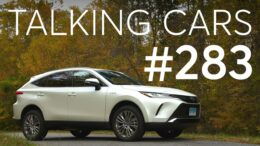2021 Toyota Venza First Impressions; Ballooning Cost Of Ownership For Bmws | Talking Cars #283 7