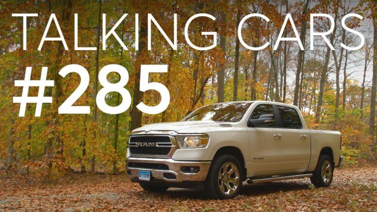 2020 Ram 1500 Diesel Test Results; New Honda Civic, Subaru Brz, And Acura Mdx | Talking Cars #285 1