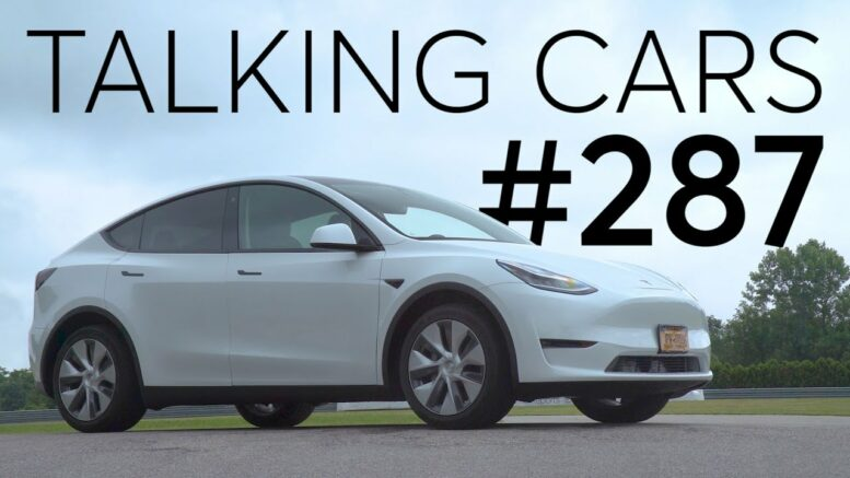 2020 Tesla Model Y Test Results | Talking Cars With Consumer Reports #287 1
