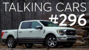 2021 Ford F-150 Hybrid First Impressions; Cr'S New Green Choice Program | Talking Cars #296 4
