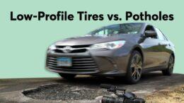 Low-Profile Tires Vs. Potholes | Consumer Reports 2