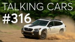 2022 Subaru Outback Wilderness; Vehicles That May Help Survive A Storm | Talking Cars #316 13