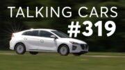 Our 'Guilty Pleasure' Cars; 2021 Hyundai Ioniq Hybrid Test Results | Talking Cars #319 4