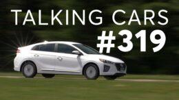 Our 'Guilty Pleasure' Cars; 2021 Hyundai Ioniq Hybrid Test Results | Talking Cars #319 9