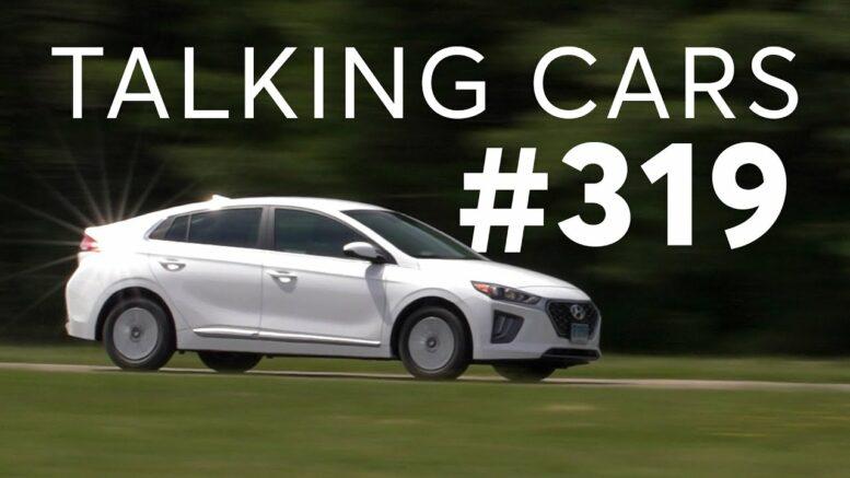Our 'Guilty Pleasure' Cars; 2021 Hyundai Ioniq Hybrid Test Results   Talking Cars #319 1